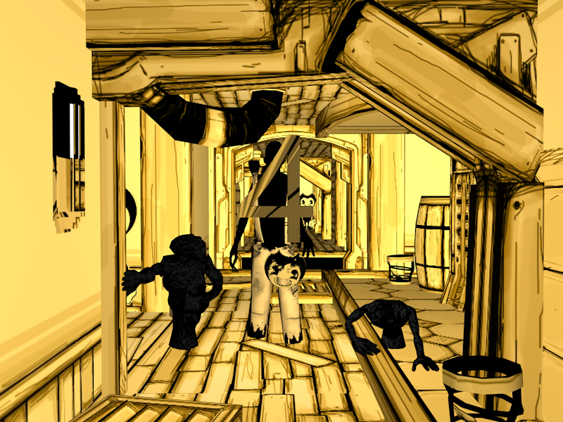bendy and the ink machine Chapter 4 by Igor-Bonfim on ...