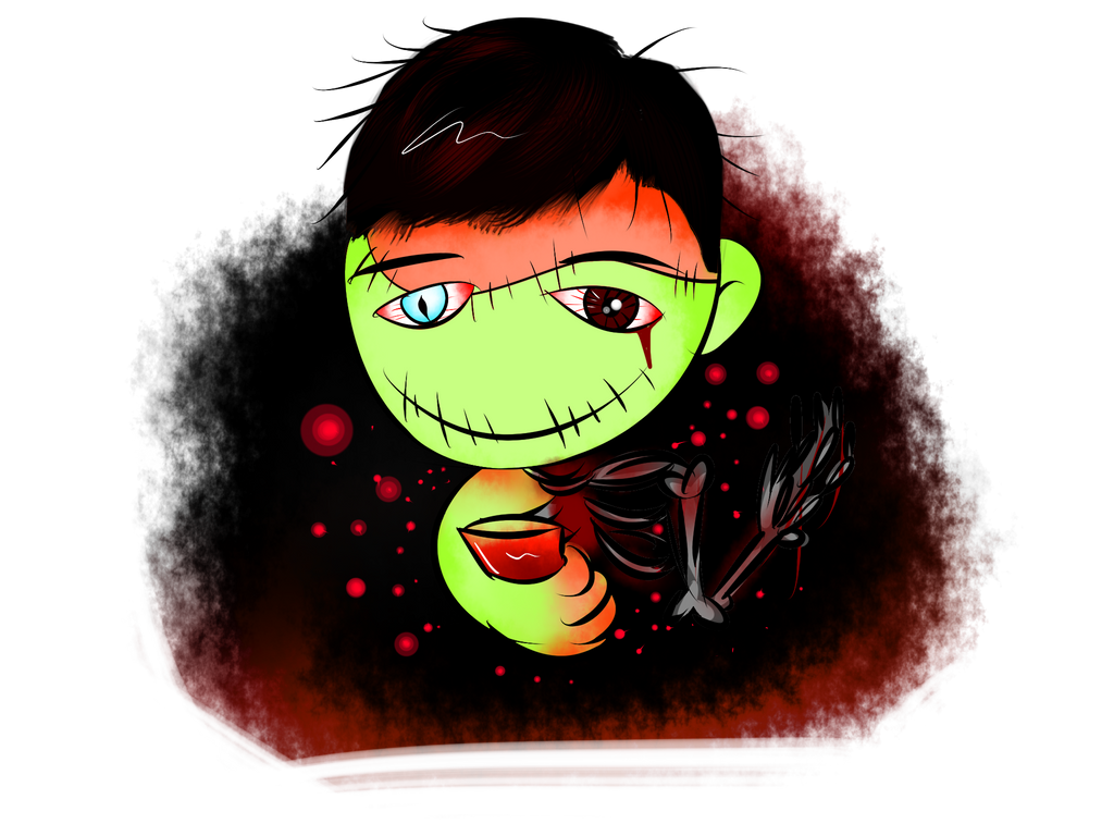 Paulo Zombie #4 by momiji-aya