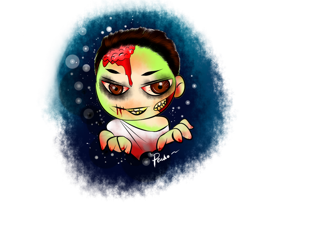 Paulo Zombie #1 by momiji-aya