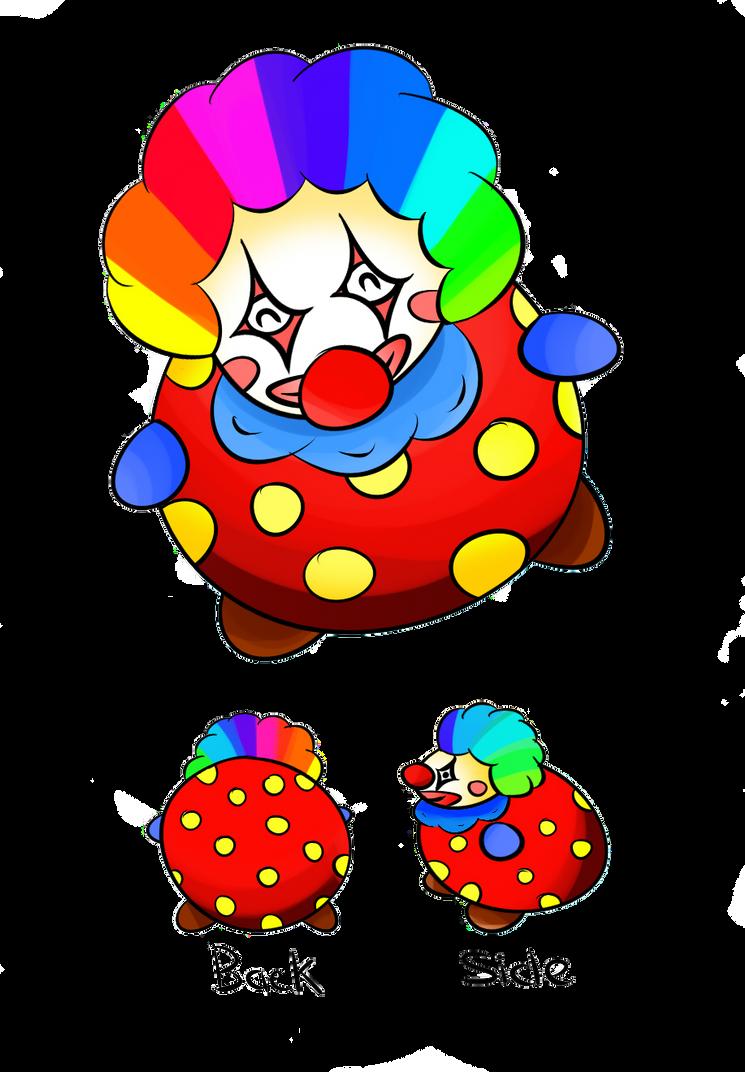 Squishable Clown by momiji-aya