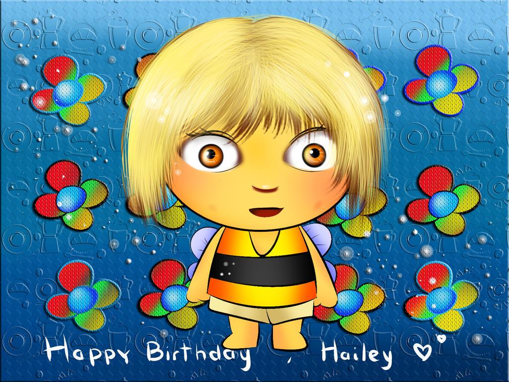 Hailey Ambriz ' s Birthday Card by momiji-aya