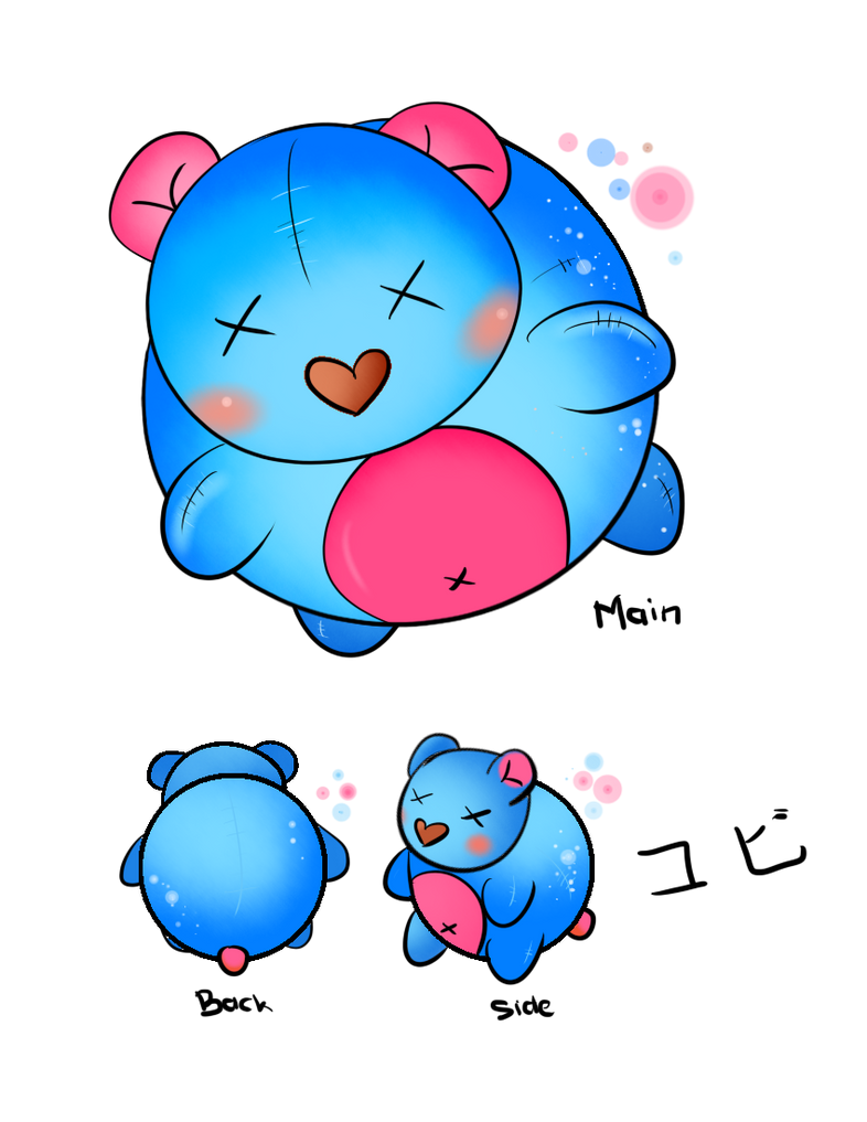 KOBI plush by momiji-aya