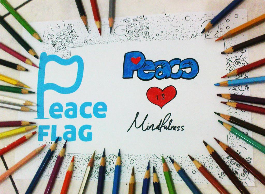 Peace is Mindfulness by momiji-aya