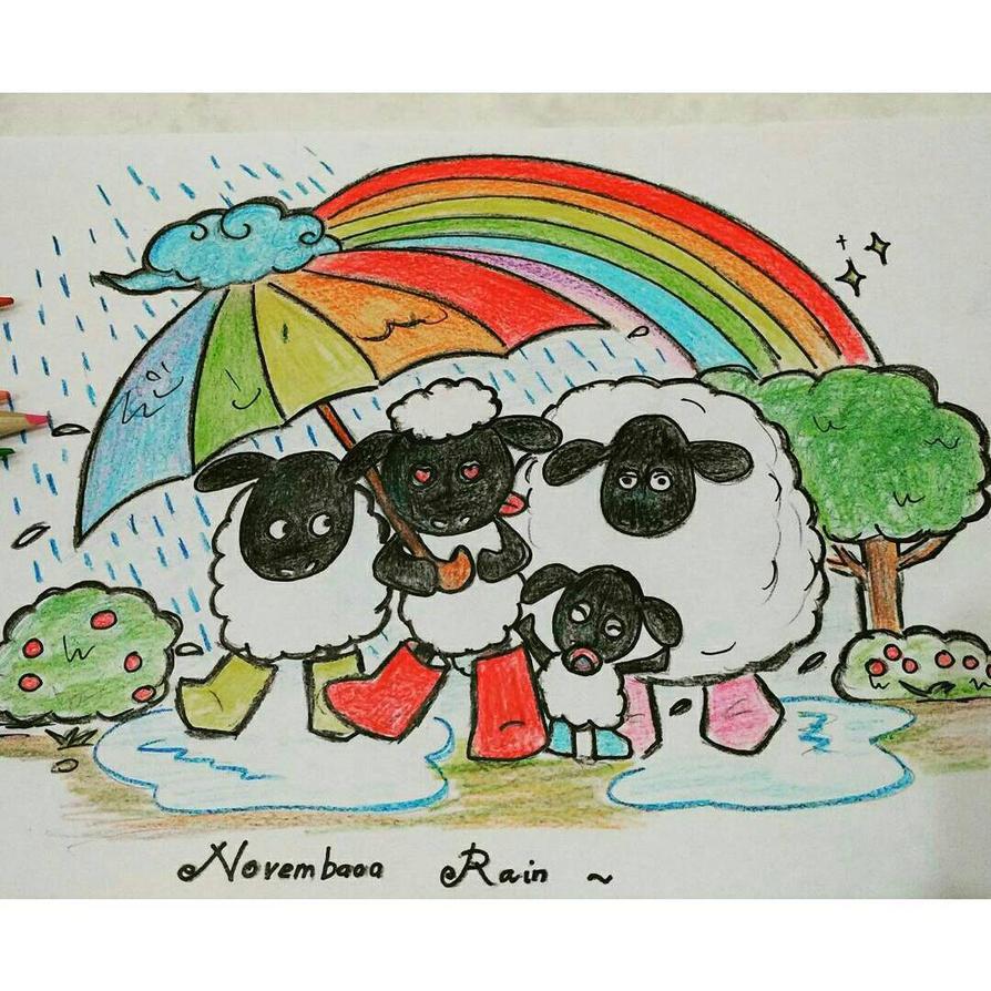 novembaa rain by momiji-aya