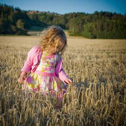 Little princess of the fields