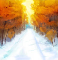 Snowfores by JigokuPie