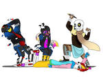 Draw the Squad with Paperjam, Fresh, Error and Ink