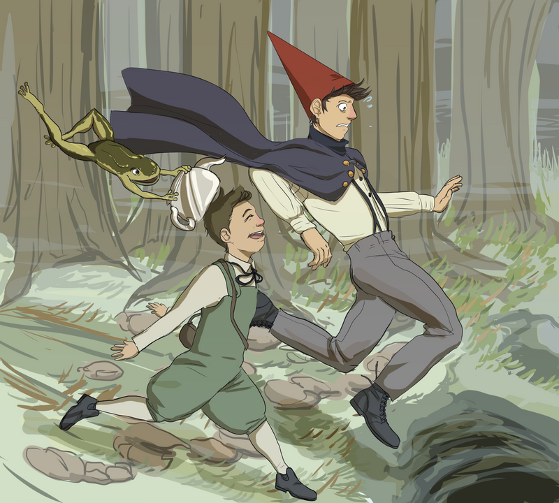 over the garden wall by Vasheren