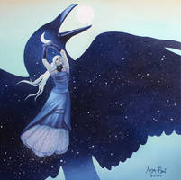 To you on the wings of the night by lizaray