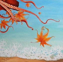 Liza Ray  -  Autumn on the sea