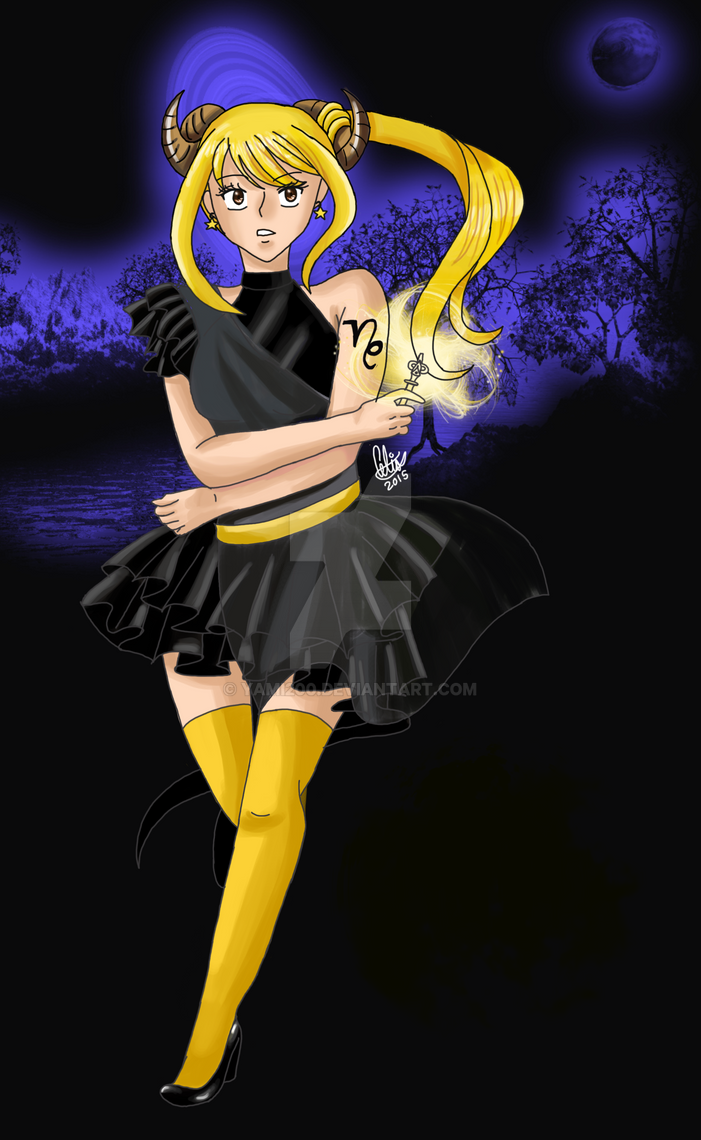 Lucy Capricorn Star Dress (My Version) by yami200
