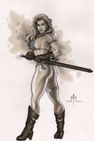Red Sonja by MMcDArt