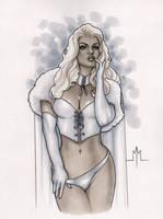 White Queen by MMcDArt