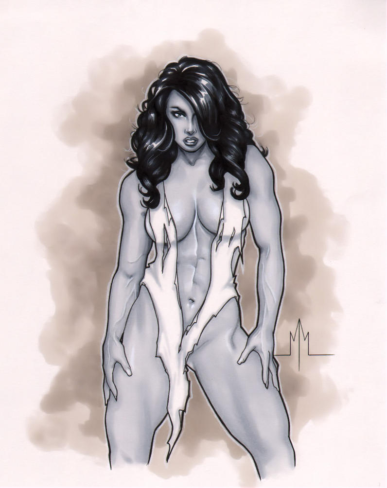 She-Hulk by MMcDArt