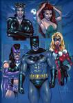 Batman and the Gotham Girls