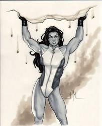 She-Hulk by MMcDArt