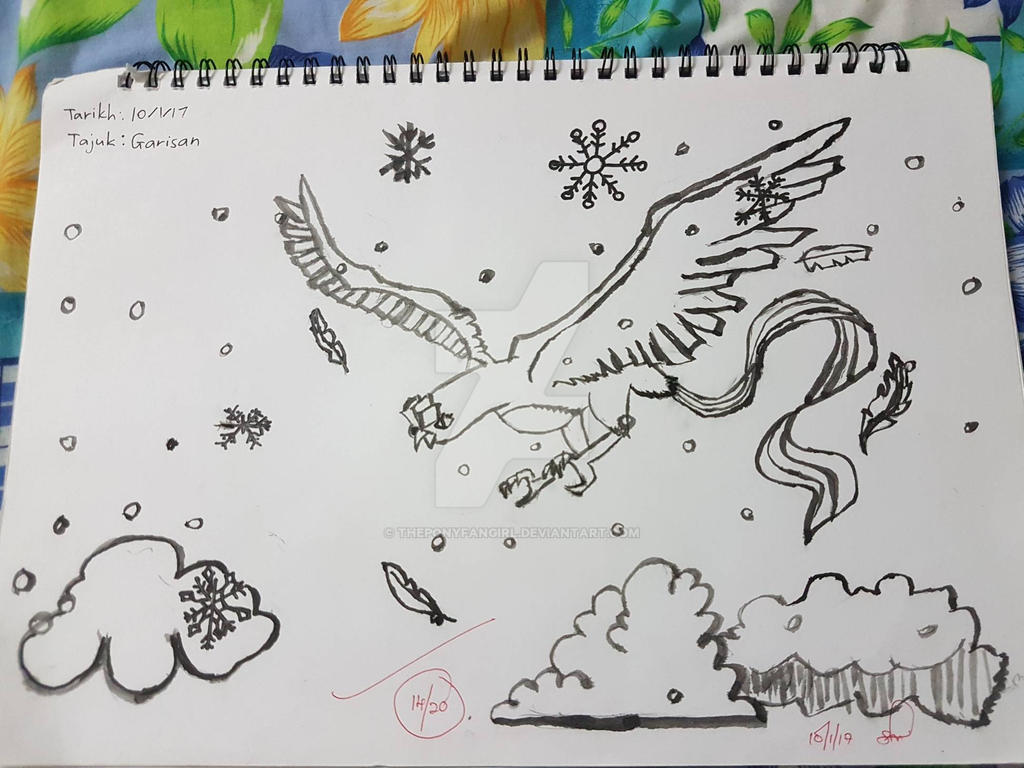 Theponyfangirl tantower deviantart a flight through snowdroped and winter sky by theponyfangirl solutioingenieria Choice Image