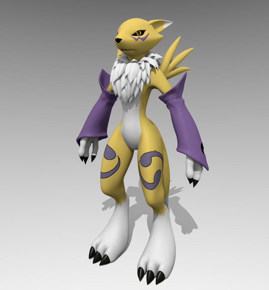 Renamon by Mikiel2171