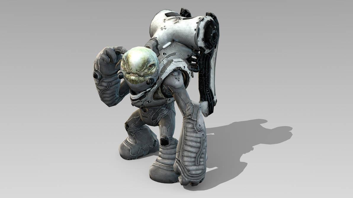 Halo 4 Grunt 8K Render by Mikiel2171 on DeviantArt