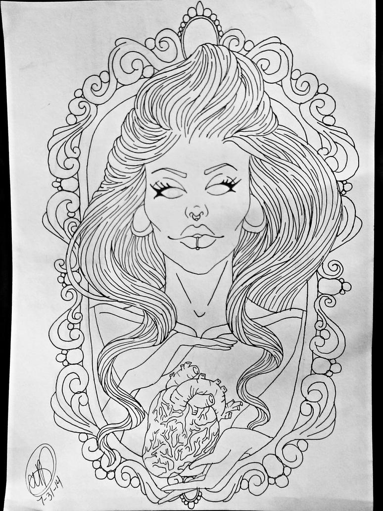 Line Art Love Images : Love is blind tattoo design by pin updoll on deviantart