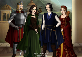 Kings And Queens of Narnia by MonsieurArtiste