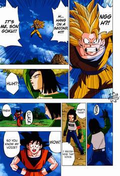 Goku Y N.17   DBS Manga #31
