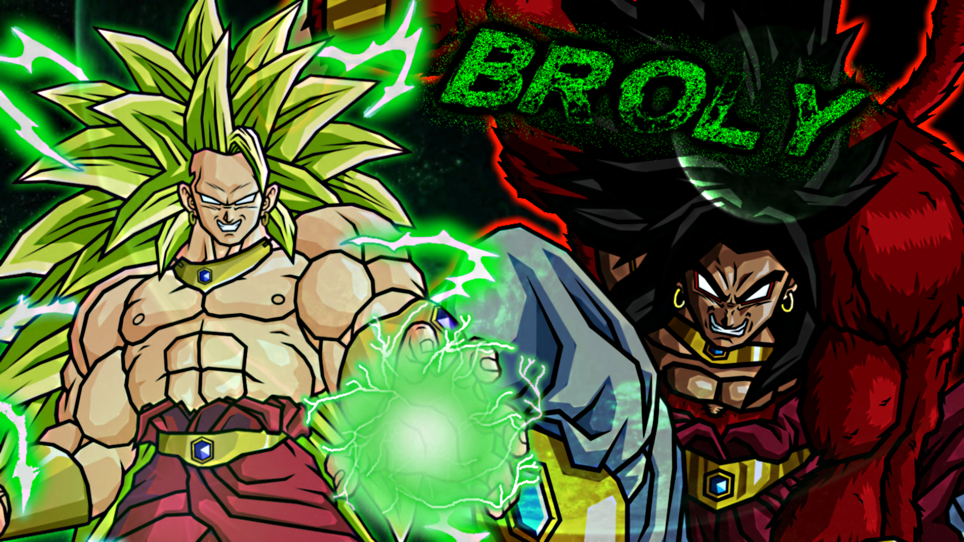 wallpaper nr 33 dragonball broly 2 by wallpaperzero on