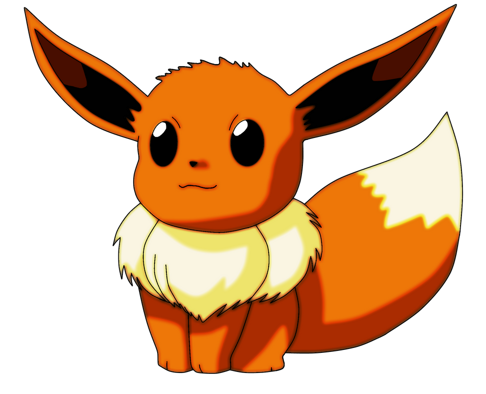 Pokemon evoli 133 lineart farbig v2 by wallpaperzero on - Pokemon noir 2 evoli ...