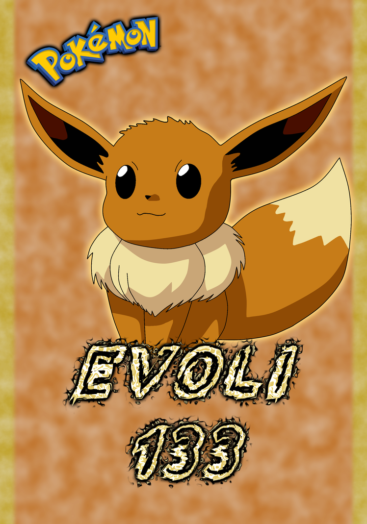 Pokemon evoli 133 karte by wallpaperzero on deviantart - Pokemon noir 2 evoli ...