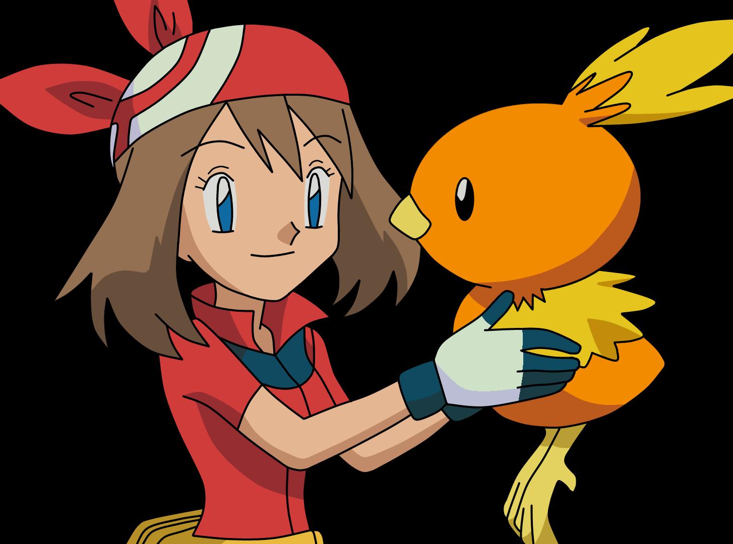 Pokemon Maike und Flemmli Lineart Farbig by WallpaperZero