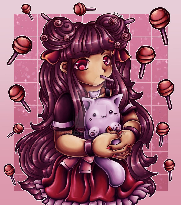 A Bundle of Kitties with Lollipops [DTIYS]
