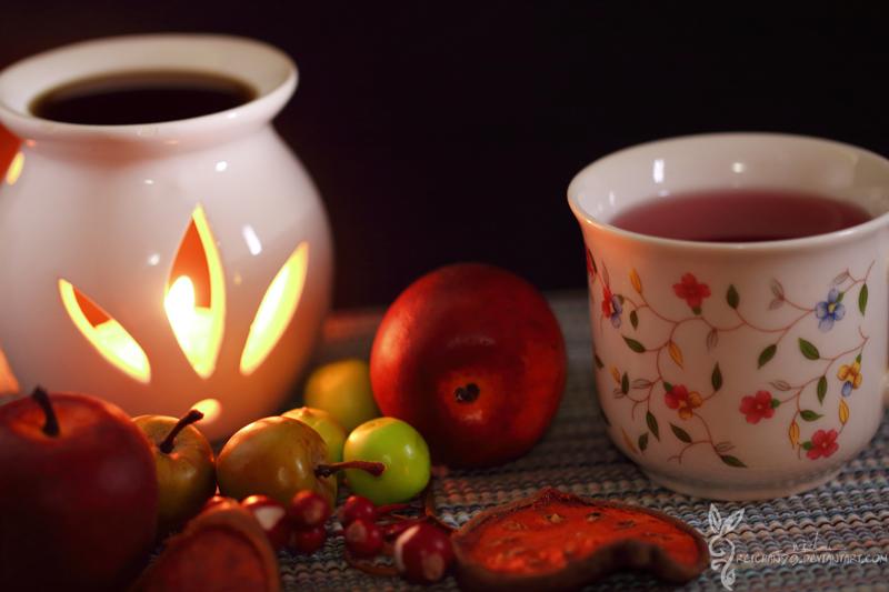 Evening Tea by reichan79