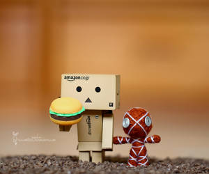 Hungry Danbo by reichan79