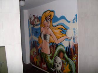mermaid by DaanWeijenberg