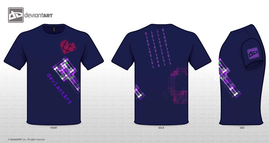 deviantArt T-shirt 3 by Limit-Vanitas