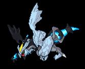 Black Kyurem Sprite by Limit-Vanitas