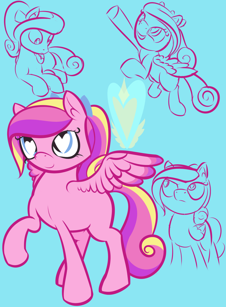 Project LS - Cadance Plus Doodles by Registered111