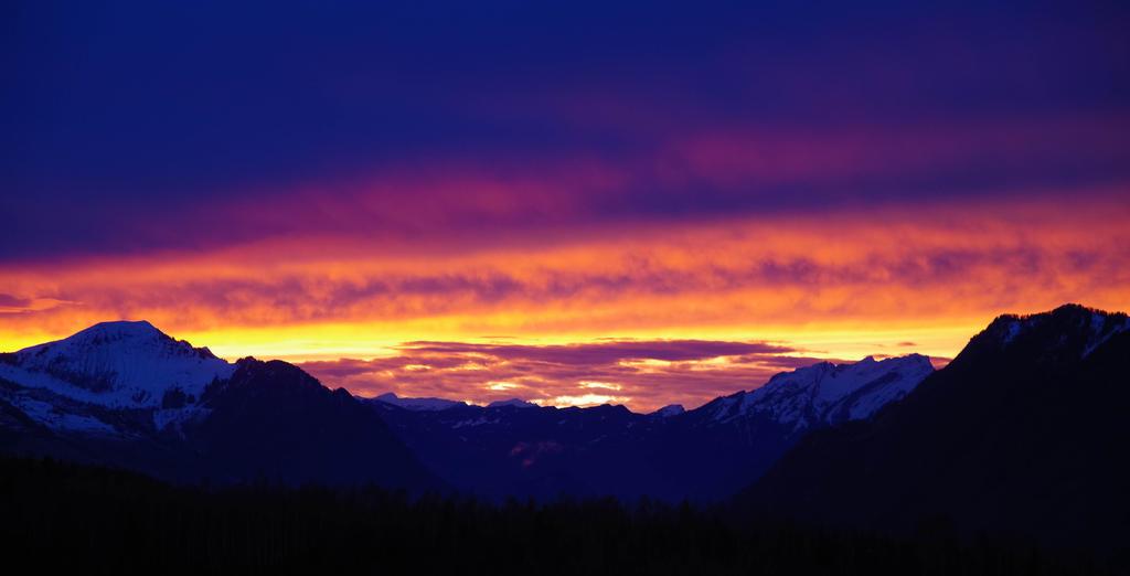 Alpine Sunset by keks3