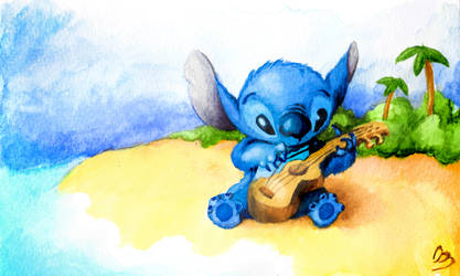 Stitch- Coloring Book Contest