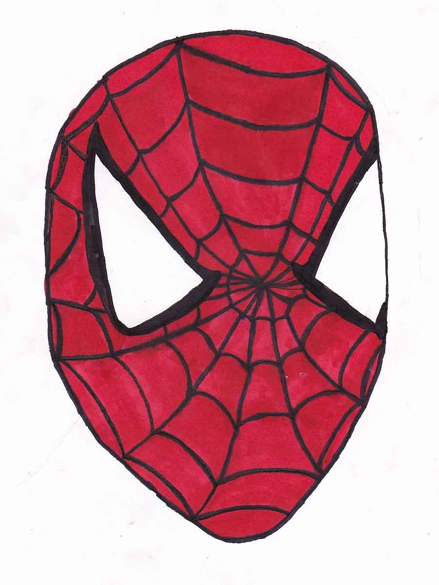 Spiderman head by ButtWiper on DeviantArt