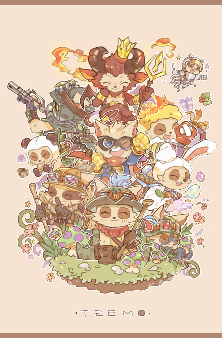 Teemo'd by Creamsouffle