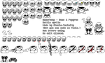[Underswap] Skelebros Battle Sprite Sheet