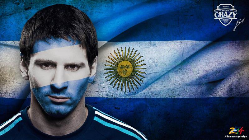 Messi Wallpaper 2014 By DamncrazyDesigns On DeviantArt