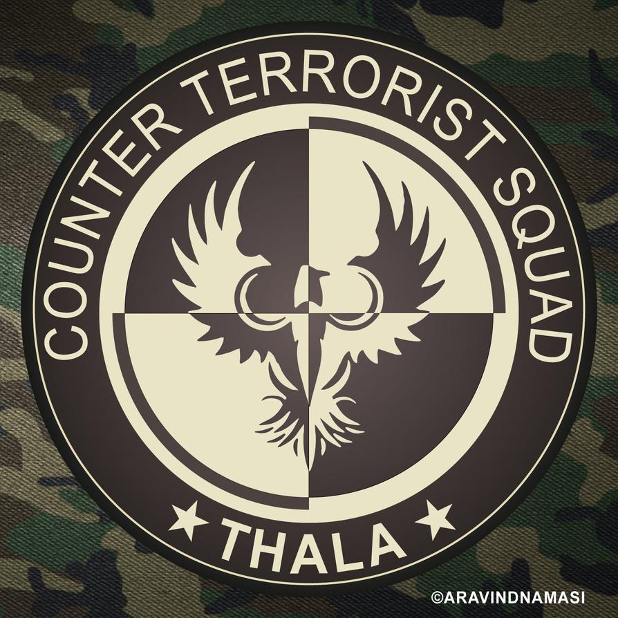 Counter Terrorism Squad - Vivegam Emblem HD by DamncrazyDesigns