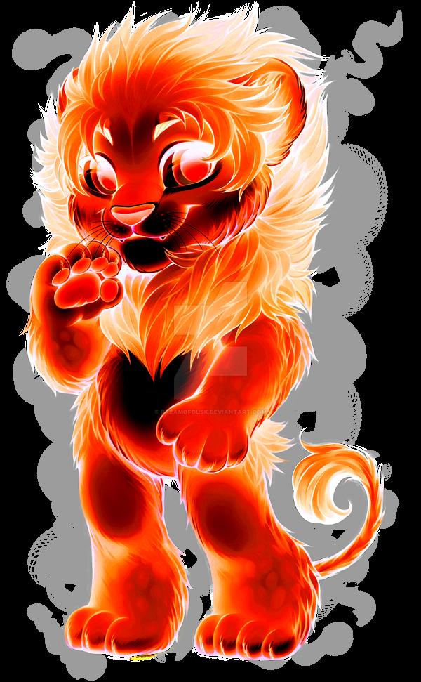 _fv__heartfire_lion_by_dreamofdusk-daoij