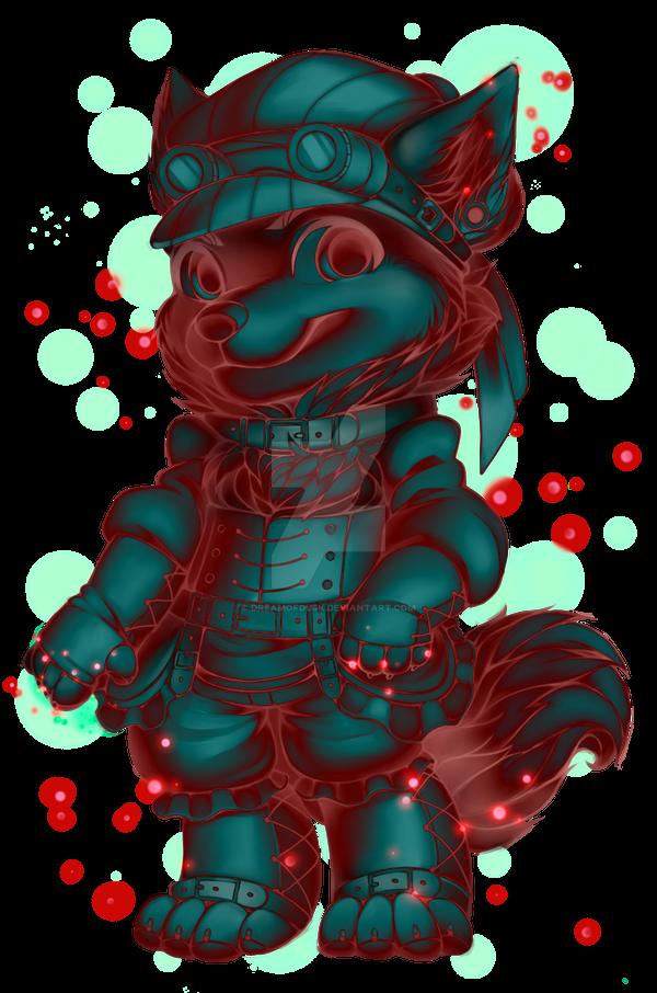 _fv__red_midnight__steampunk_wolf_by_dre