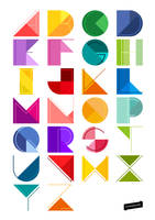 Alphabet Design by ceffany