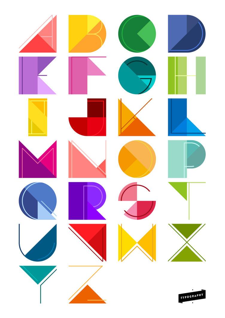 alphabet design by ceffany