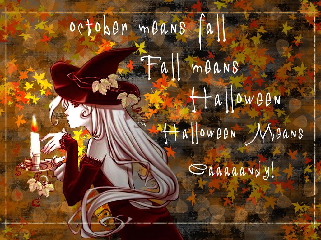 Fall Halloween Wallpaper By Niricko