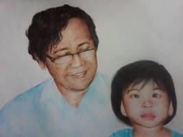 my father first grandchild